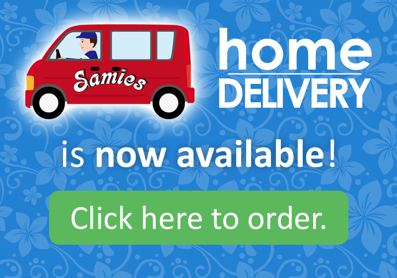 Home Delivery is now available